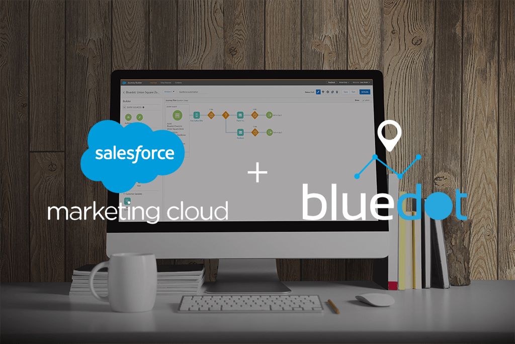 Bluedot Launches on Salesforce Marketing Cloud to Power Personalized Journeys - Featured Image