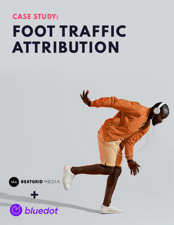 Bluedot Case Study: Foot Traffic Attribution with Beatgrid Media