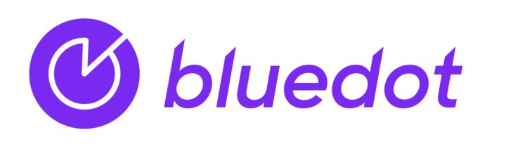 New bluedot geofencing logo