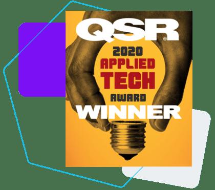 QSR awards Bluedot applied tech winner