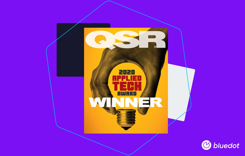 Bluedot Named QSR Applied Tech Awards Winner - Featured Image