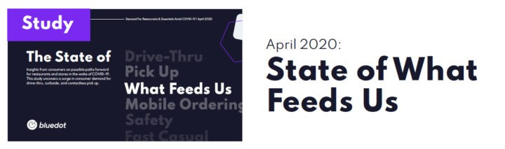 State of what feeds us volume 1