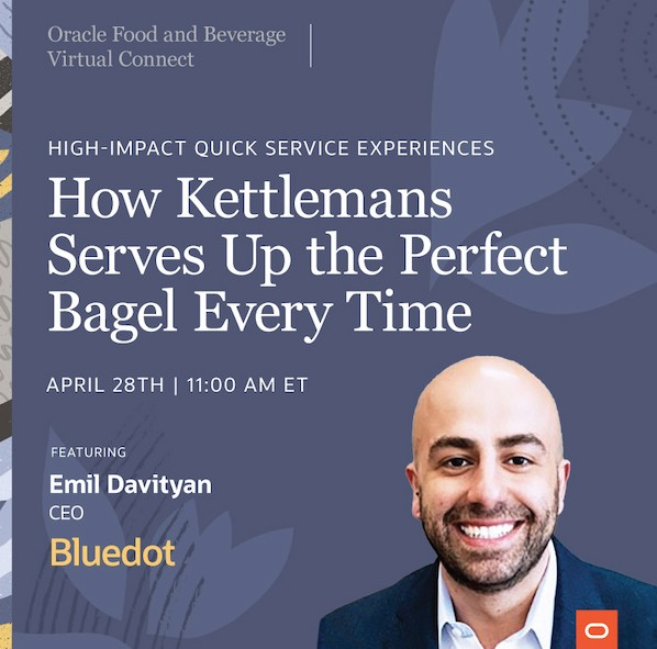 Emil Davityan at Oracle Food and Beverage Connect