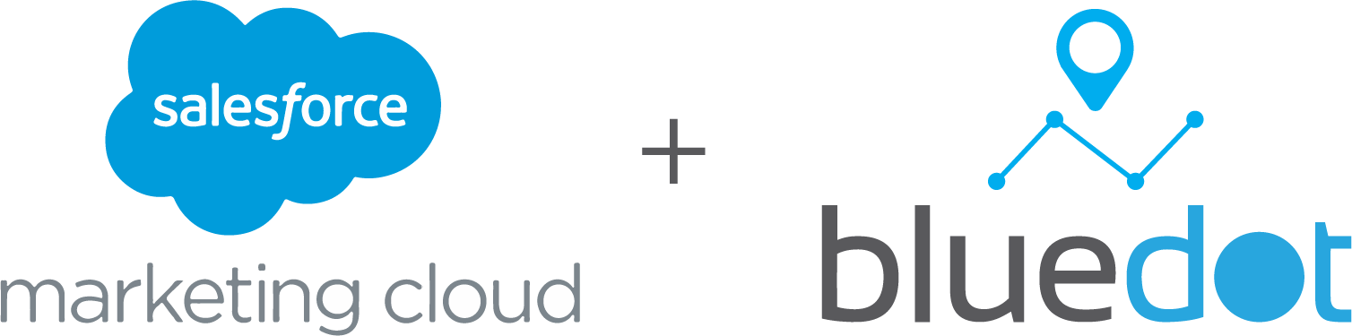 Salesforce and Bluedot location tech